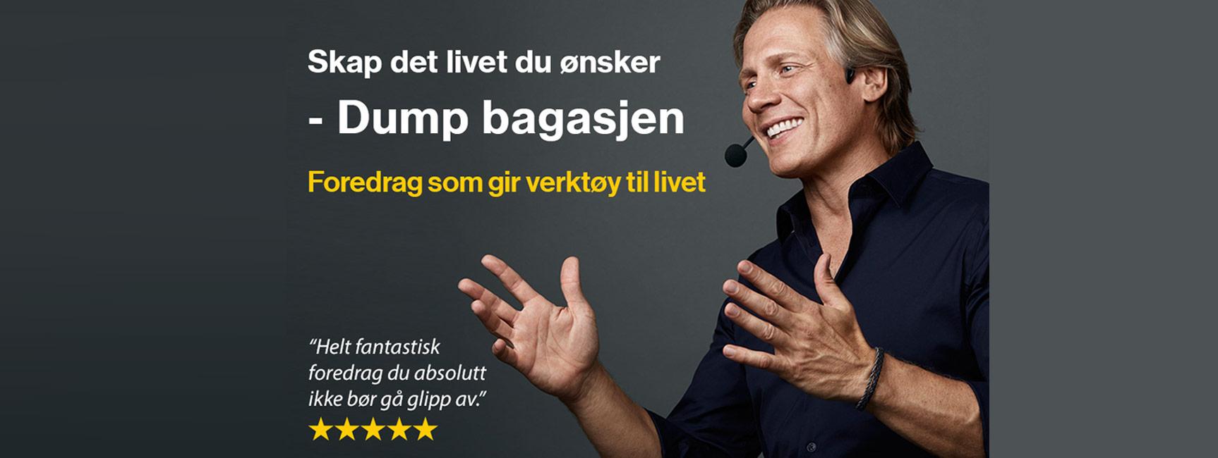 Dump bagasjen med Anders Magnusson på Edderkoppen Scene