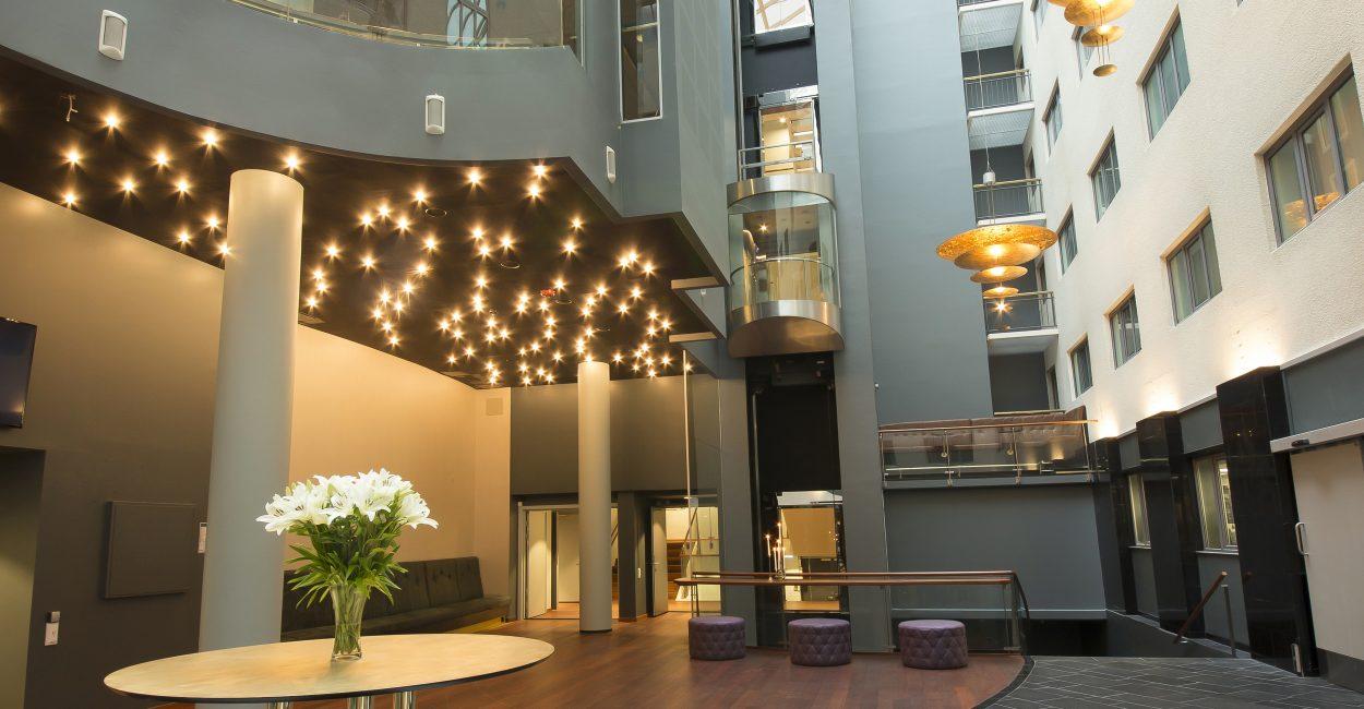 Scandic St. Olavs Plass M&E Glasshallen roof light