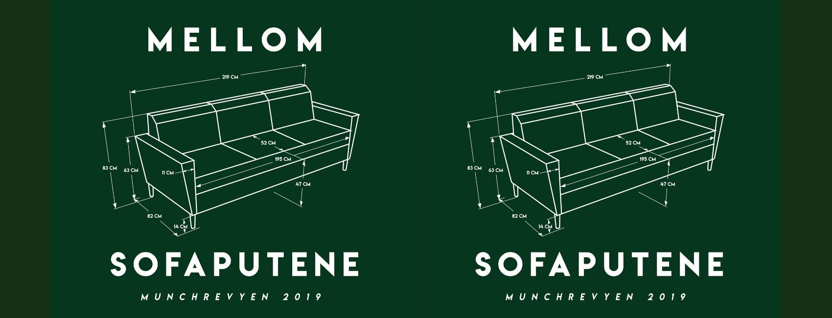 Munch Revyen 2019 Mellom Sofaputene på Edderkoppen Scene