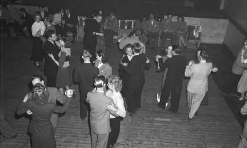 Edderkoppen Teater 1949, dans til Helmer Karlsens orkester