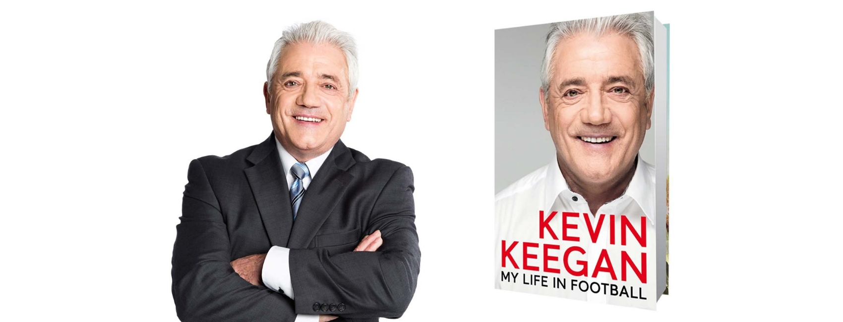 Kevin Keegan på Edderkoppen Scene
