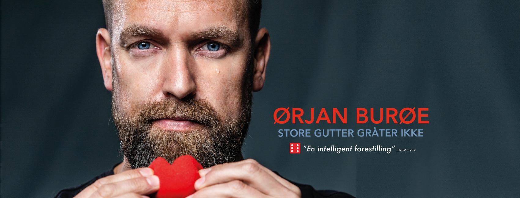 Ørjan_Burøe_Edderkoppen_Scene_Store_gutter_gråter_ikke