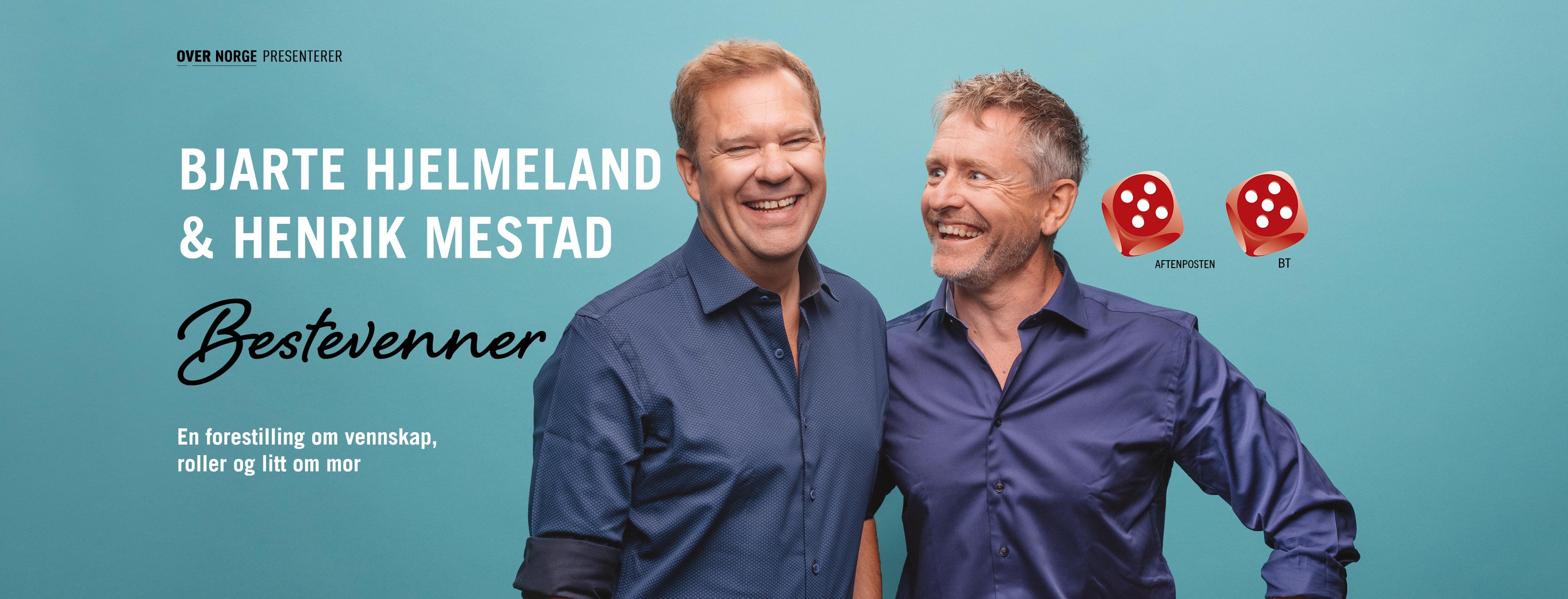 Bjarte-Hjelmeland-Henrik-Mestad-Bestevenner-edderkoppen-Scene-Oslo